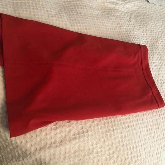 Ann Taylor Dresses & Skirts - Orange/ red pencil skirt